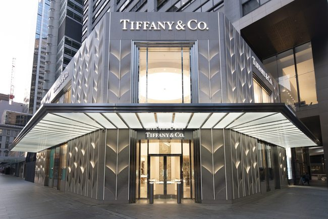 Tiffany store Sydney