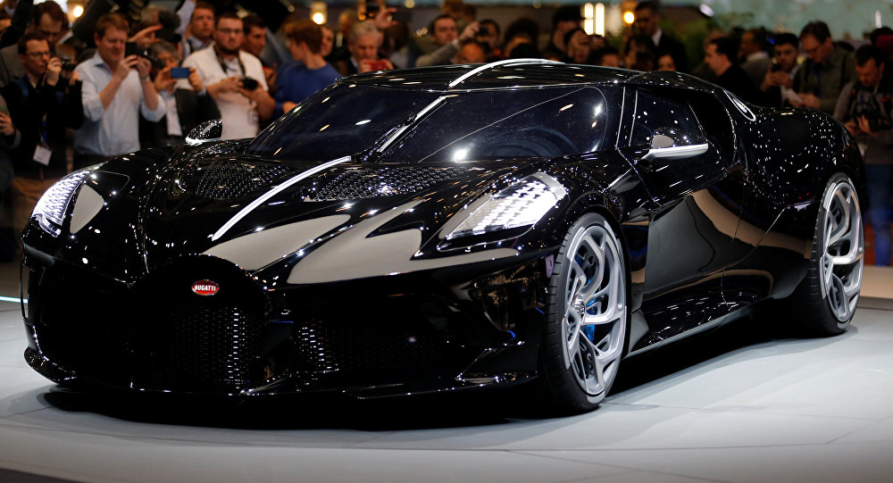 Bugatti Sleek Black