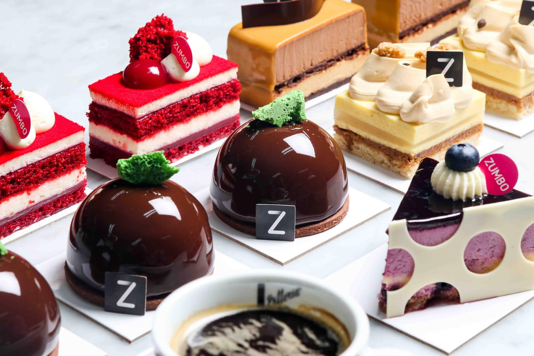 Adriano Zumbo cakes