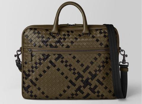 Dad Bottega Veneta briefcase