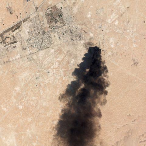 Saudi Arabia Oil Plant