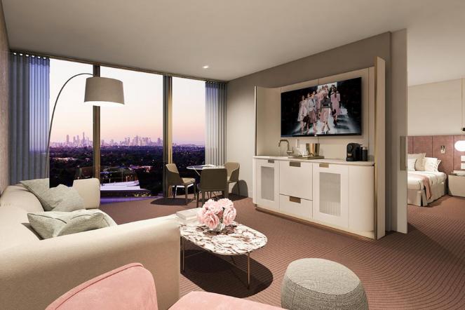 Hotel Chadstone Suite Interior