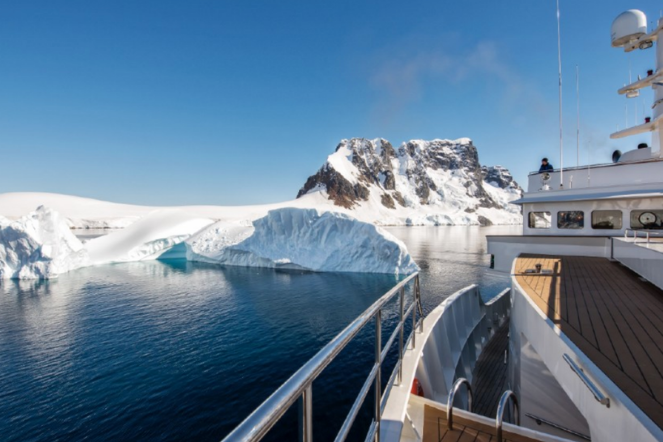 Antarctica Views Super Yacht