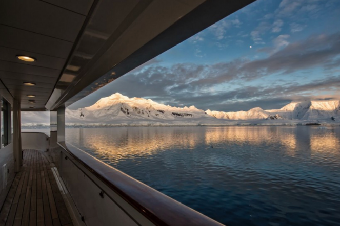 Antarctica Views Icebergs Superyacht