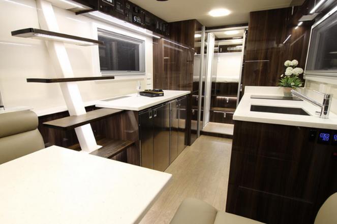 Commander 8x8 RV Kitchen
