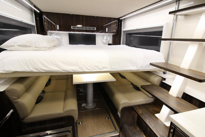 Commander 8x8 RV Bed