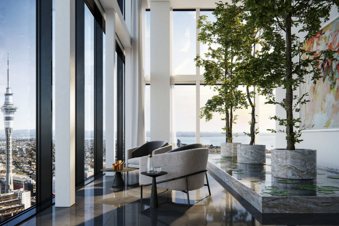 New Zealand Pacifica penthouse