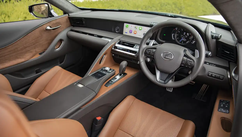 Lexus Car Interior