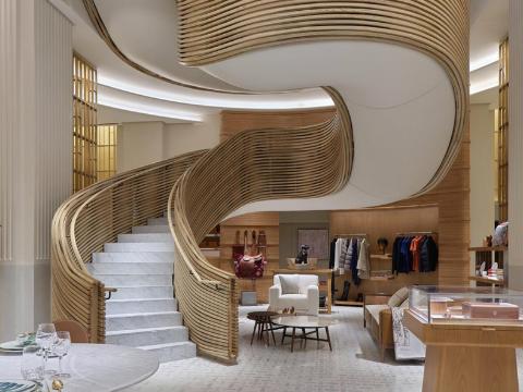 Hermès staircase sydney