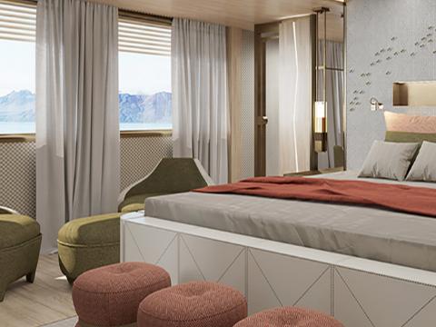 La Datcha Yacht Bedroom