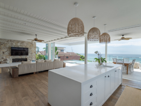 Queensland mansion open plan living